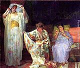 Henry Siddons Mowbray The Harem painting