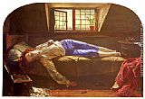 Henry Wallis The Death of Chatterton painting