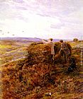 Heywood Hardy The Grouse Shoot painting