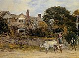 Heywood Hardy The Herdsmans Greeting painting