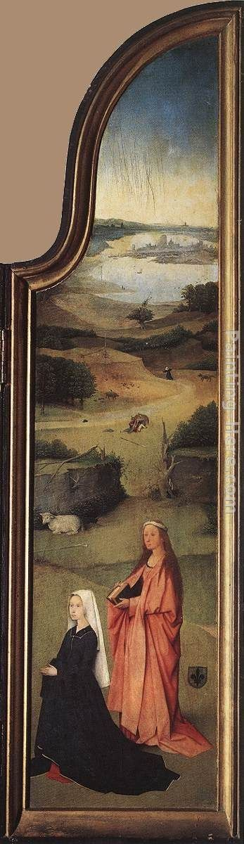 Hieronymus Bosch St. Agnes with the Donor