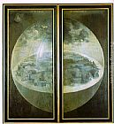 Hieronymus Bosch Garden of Earthly Delights, outer wings of the triptych painting