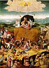 Hieronymus Bosch Haywain, central panel of the triptych painting