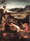 Hieronymus Bosch St Jerome in Prayer painting