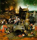 Hieronymus Bosch Temptation of St. Anthony, central panel of the triptych painting