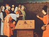 Hieronymus Bosch The Magician painting