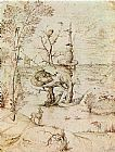 Hieronymus Bosch The Man-Tree painting