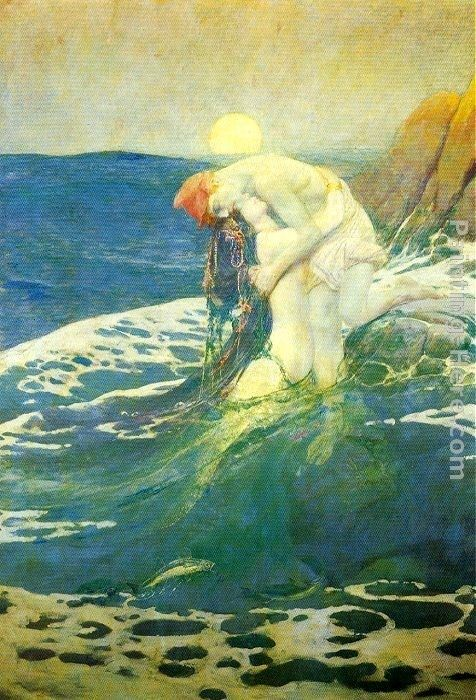 Howard Pyle The Mermaid