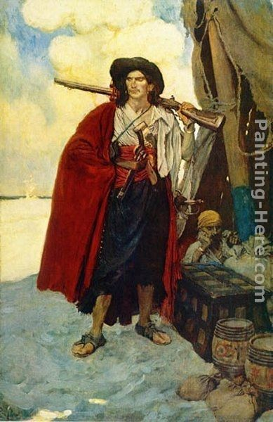 Howard Pyle The Pirate was a Picturesque Fellow