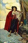 Howard Pyle The Pirate was a Picturesque Fellow painting