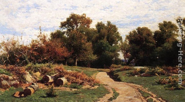 Hugh Bolton Jones A Country Path in Summer