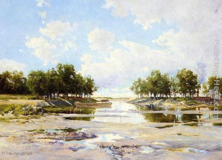 Hugh Bolton Jones Inlet at Low Tide