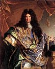 Hyacinthe Rigaud Portrait of Phillippe de Courcillon painting