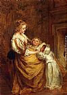 Jacob Henricus Maris Motherly Love painting