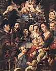 Jacob Jordaens Self Portrait among Parents, Brothers and Sisters painting