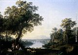 Jacob Philipp Hackert Landscape with River painting