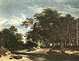 Jacob van Ruisdael The Large Forest painting