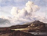 Jacob van Ruisdael The Ray of Sunlight painting