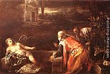 Jacopo Bassano Susanna and the Elders painting