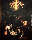 Jacopo Bassano The Adoration Of The Shepherds painting