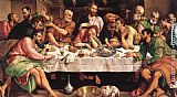 Jacopo Bassano The Last Supper painting