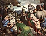 Jacopo Bassano The Three Magi painting
