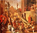 Jacopo Pontormo Joseph With Jacob In Egypt painting