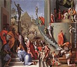 Jacopo Pontormo Joseph in Egypt painting