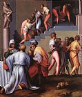 Jacopo Pontormo Punishment of the Baker painting