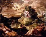 Jacopo Robusti Tintoretto Agony In The Garden painting