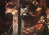 Jacopo Robusti Tintoretto Annunciation painting