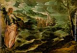 Jacopo Robusti Tintoretto Christ at the Sea of Galilee painting