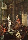 Jacopo Robusti Tintoretto Christ before Pilate painting