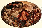 Jacopo Robusti Tintoretto Glorification of St Roch painting