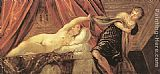 Jacopo Robusti Tintoretto Joseph and Potiphar's Wife painting