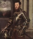 Jacopo Robusti Tintoretto Man in Armour painting