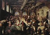 Jacopo Robusti Tintoretto Marriage at Cana painting