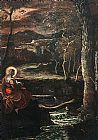 Jacopo Robusti Tintoretto St Mary of Egypt painting