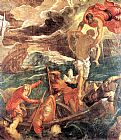 Jacopo Robusti Tintoretto St. Mark Saving a Saracen from Shipwreck painting