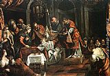 Jacopo Robusti Tintoretto The Circumcision painting
