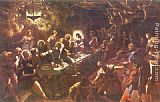 Jacopo Robusti Tintoretto The Last Supper painting