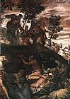 Jacopo Robusti Tintoretto The Miracle of the Loaves and Fishes painting