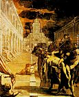Jacopo Robusti Tintoretto The Stealing of the dead body of St Mark painting