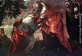 Jacopo Robusti Tintoretto The Visitation painting