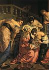 Jacopo Robusti Tintoretto The birth of St. John the Baptist - detail painting