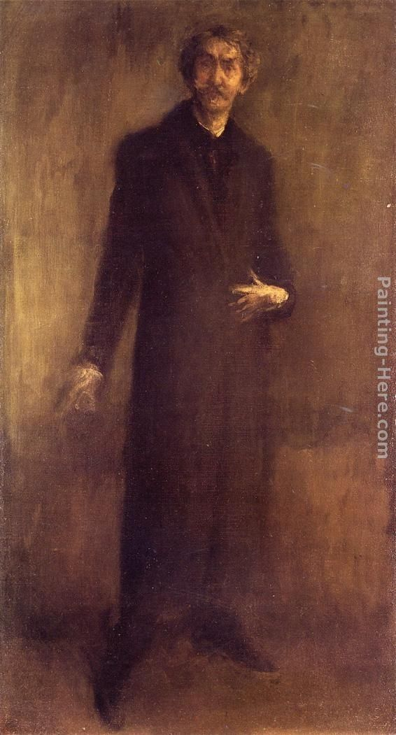 James Abbott McNeill Whistler Brown and Gold