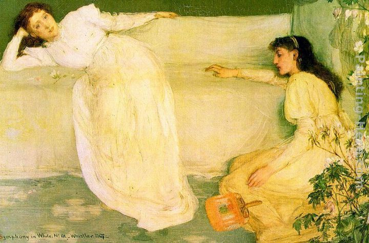 James Abbott McNeill Whistler Symphony in White no.3
