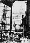 James Abbott McNeill Whistler Rotherhithe painting