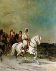 James Alexander Walker A Maharaja on a White Horse painting