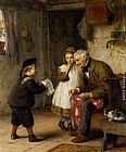 James Clarke Waite Surprise for Grandfather painting